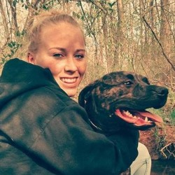 The twenty two year old girl was killed by her own dogs