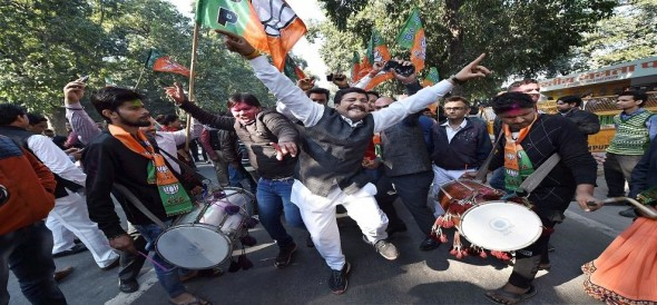 BJP wins in Gujrat and himachal pradesh assembly elections