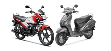 Highest Selling Bikes and Scooter