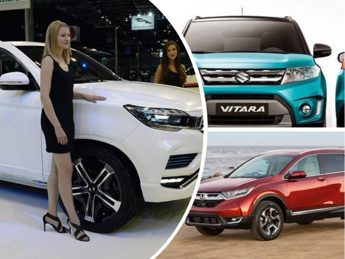 Upcoming SUV cars launching in India 2018: Vitara, XUV700, CRV, S201, Q501,