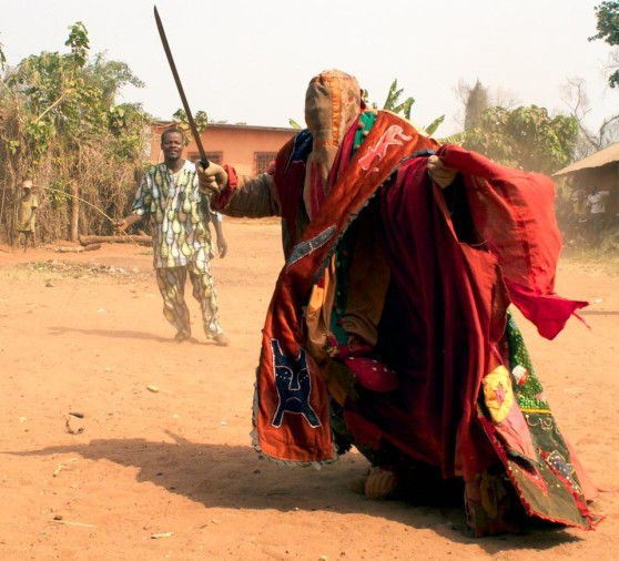 The secret society of benin egungun who have the power to kill with a single touch