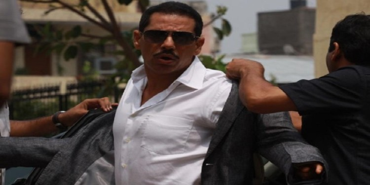 robert vadra land deal matter- ed presents two accused in a special court