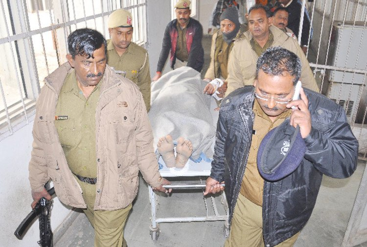 psycho killer in palwal suffering brain hemorrhage