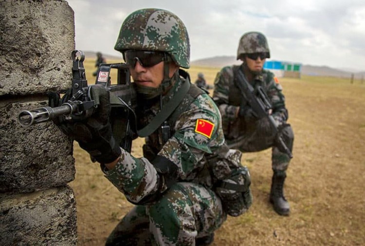 After Dokalam controversy, Chinese forces intensified the exercise in Tibetan area
