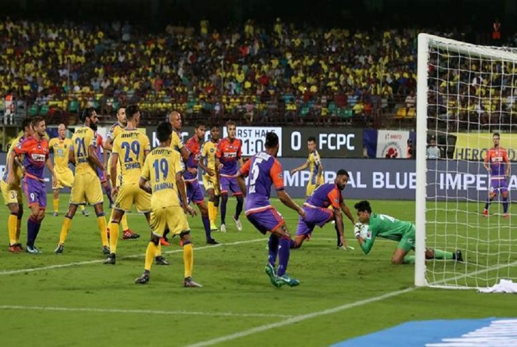 indian super league: Kerala Blasters earn a draw against Pune City
