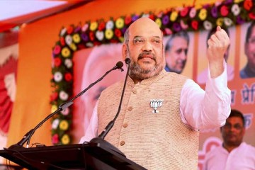 BJP president Amit Shah has inspected the party's new headquarter