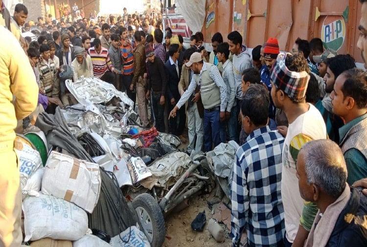 Firozabad Road Accident Near Sirsaganj - यूपी के