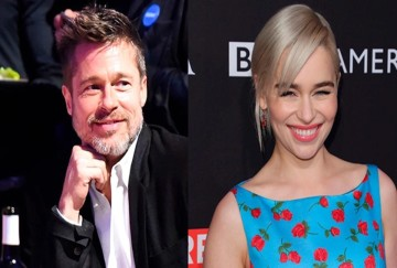 to watch Game of Thrones with Emilia Clarke Brad Pitt Bid $120000