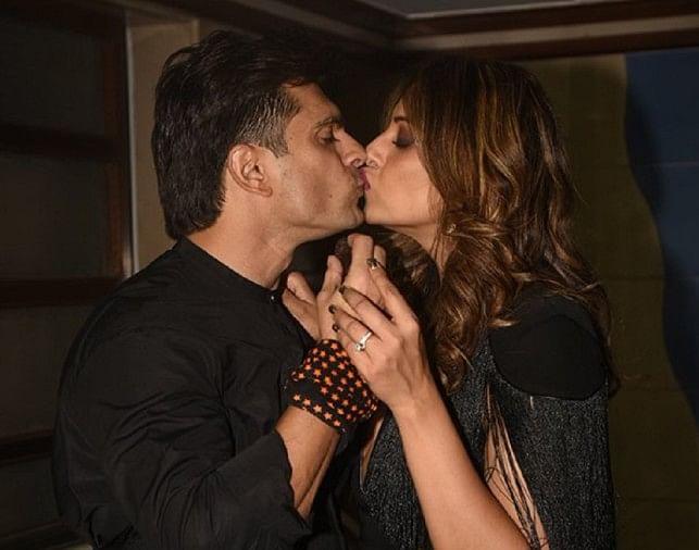 Image result for Kiss Day : बिपाशा और करन सिंह ग्रोवर