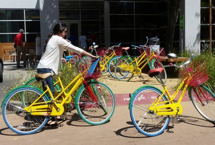 Technology giant Google loses 250 employee GBikes per week