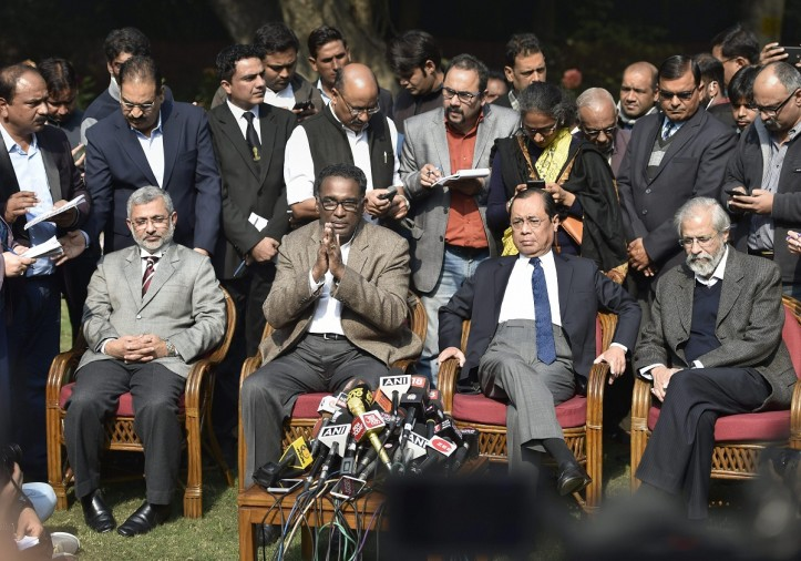 CJI rejected four judges plea to hear PIL which filled for Justice loya death case