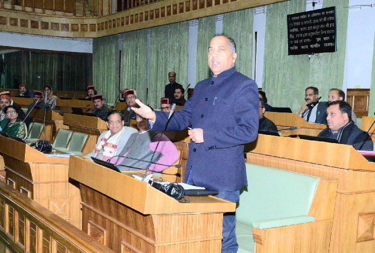 bitter argument between ruling and opposition in himachal assembly