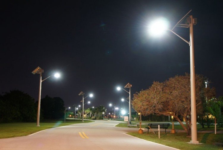 Solar street lights in himachal with 90 percent subsidy