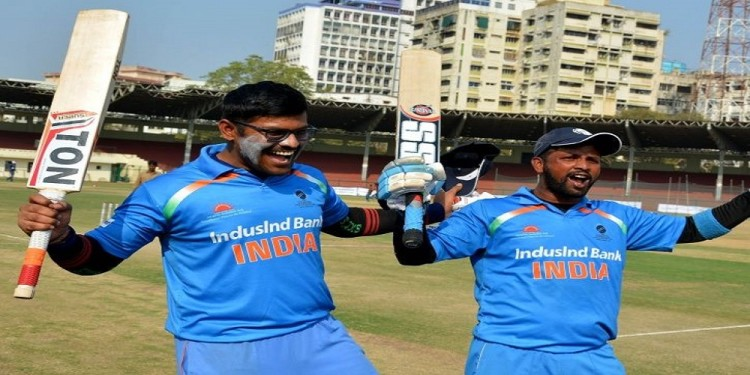 blind cricket world cup india beat pakistan by 7 wickets