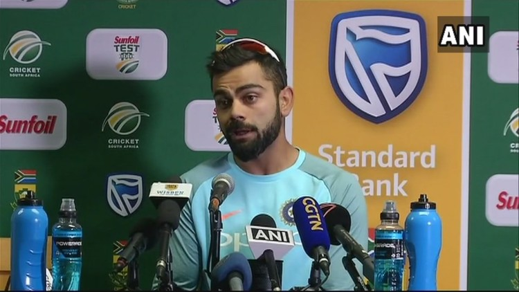 we are not panic about our batting unit says Virat Kohli