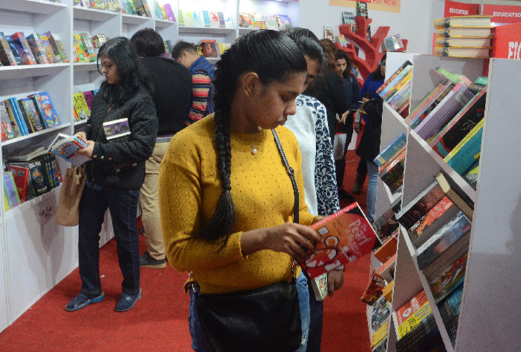 books are available on seventy percent discount in Delhi world book fair 2018