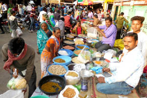market ready for makar sankranti
