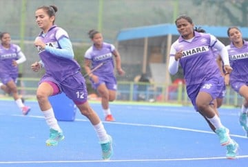 national women hockey team facing yo yo test