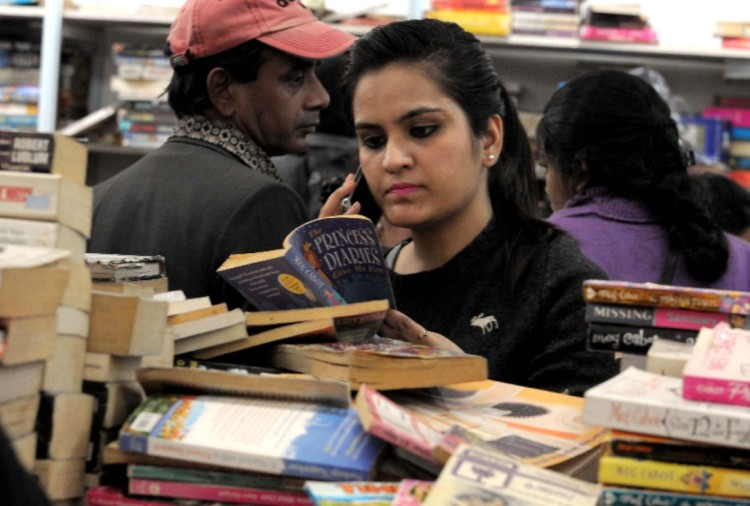 world book fair: children and old readers showed interest in books on weekend