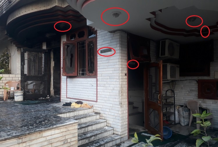 rajasthan jaipur fire tragedy question arises on the security equipments at house