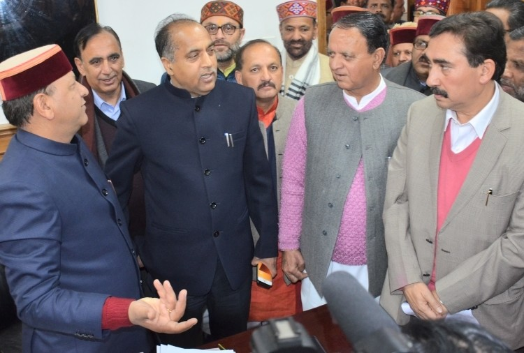 himachal assembly winter session and cm jairam thakur response to opposition