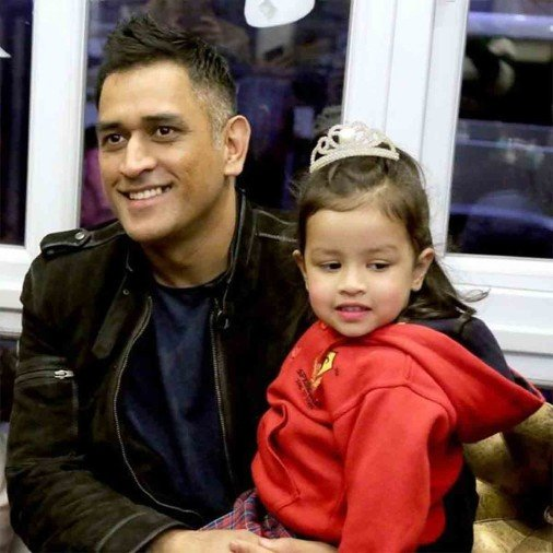 MS Dhoni cheers daughter Ziva on annual day