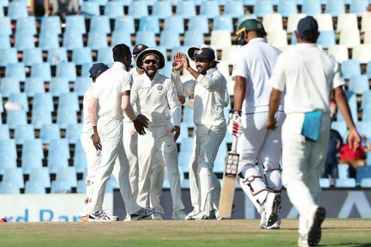 india vs south africa second test first day centurion live updates