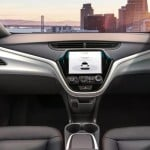 General Motors showcased Cruise AV, a car without a steering wheel or brake pedal