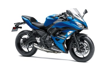 2018 Kawasaki Ninja 650 ABS in  new candy plasma blue colour launched