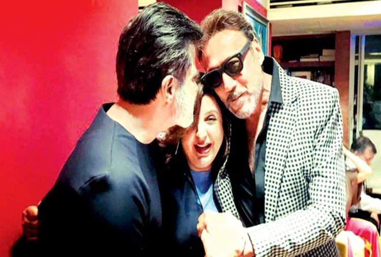 Farah Khan shares Ram Lakhan Moment With Anil Kapoor And Jackie Shroff