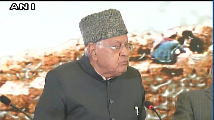 Our enemy is not across the border among ourselves, farooq abdullah