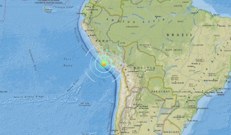 Peru: Massive 7.3 magnitude earthquake in Puquio region
