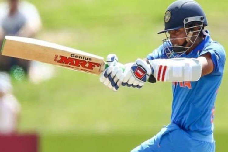 prithvi shaw reminds sachin tendulkar after playing cover drive