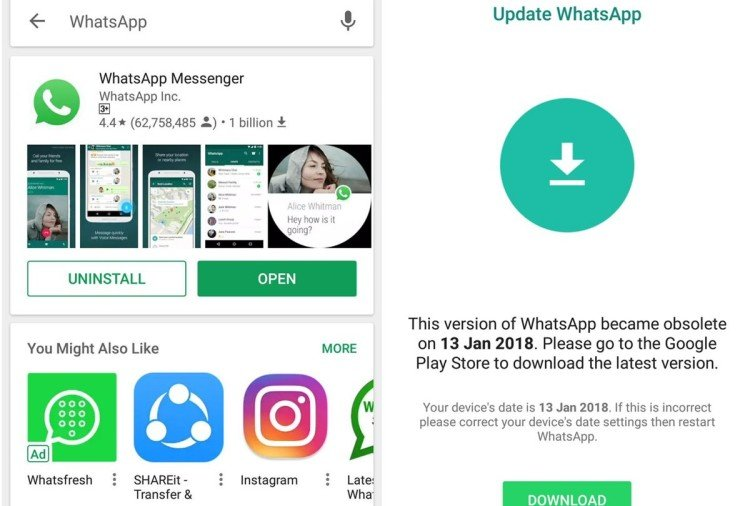 WhatsApp is not working Mostly in Xiaomi users in India