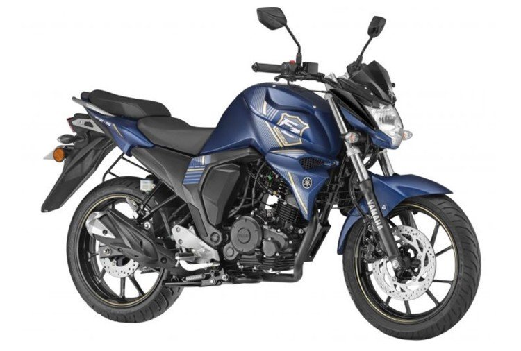yamaha fzs fi with rear disc brake