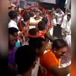 CM SHIVRAJ SINGH SLAP HIS GUNMAN DURING A ROADSHOW IN SARDARPUR OF MADHYA PRADESH