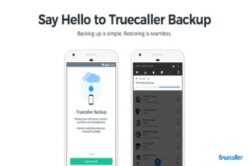 Truecaller Android Users BackUp and Restore Contacts