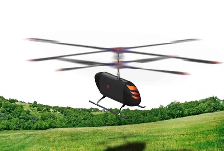 helicopter design by IIT Kanpur