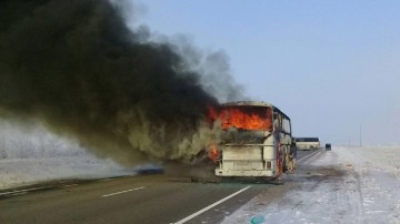 Kazakhstan: 52 Uzbekistan citizens killed in a bus fire