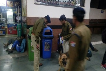 rajasthan threat of blowing the jaipur railway station with a bomb police said its fake threat