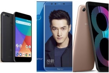 Oppo A83 vs Xiaomi Mi A1 vs Honor 9 Lite: Price, specifications and features compared