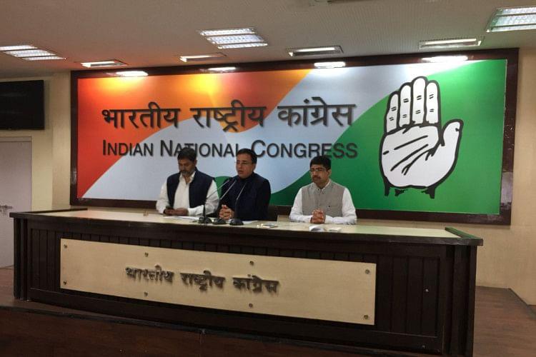 congress targets modi government over Pakistan terrorist activities against india
