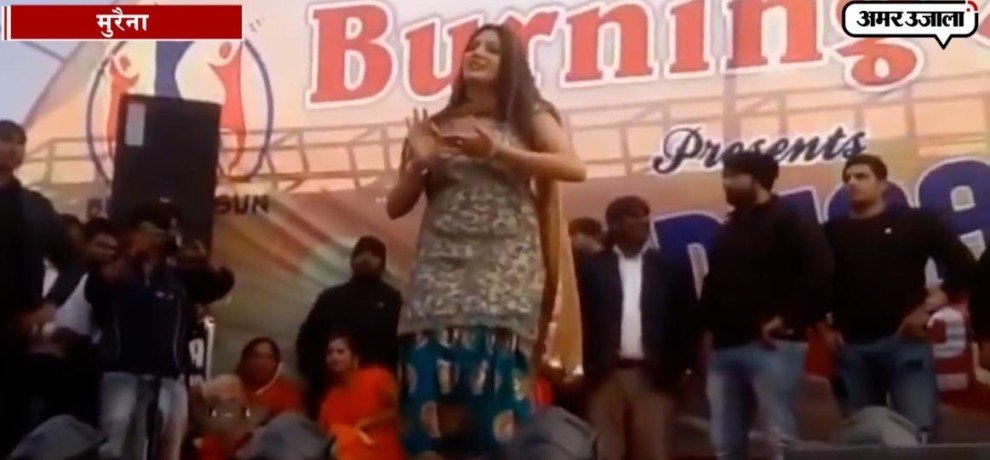 First Stage Show Of Sapna Chaudhary In 2018 In Morena Of Madhya