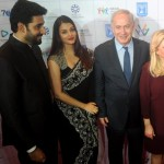Aishwarya Rai Bachchan and Vivek Oberoi come under the same roof at israeli prime minister programme