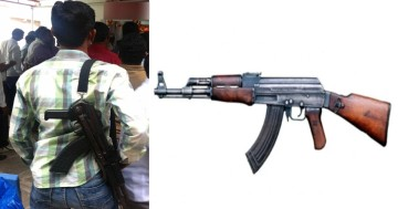 criminals in Haryana have AK 47, Intelligence report