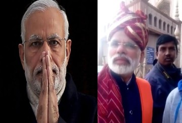 Video being viral of A man who look like Narendra Modi
