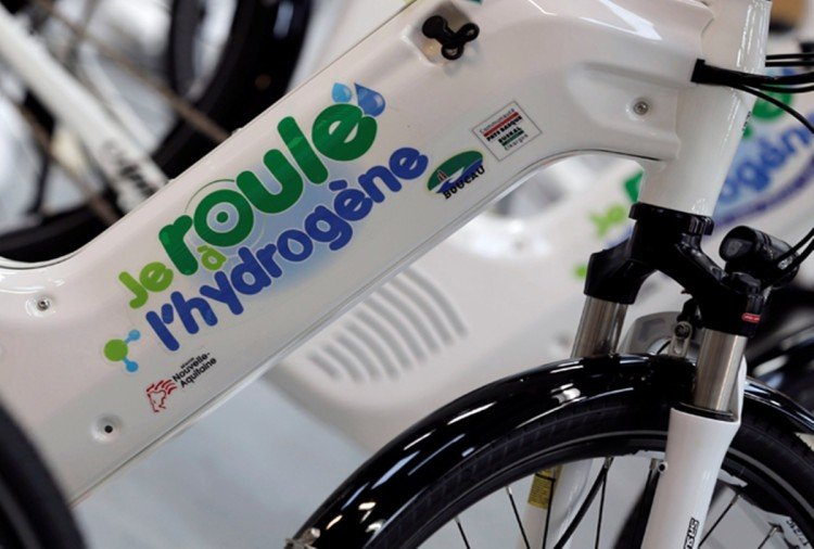 Image result for world's first hydrogen gas bicycle