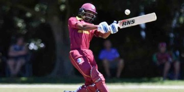 icc u19 world cup west indies beats kenya by 222 runs