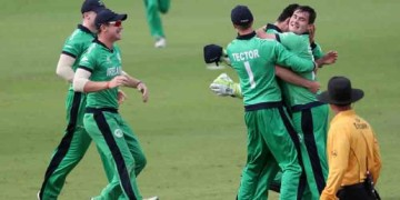 u19wc ireland beats afghanistan by four runs