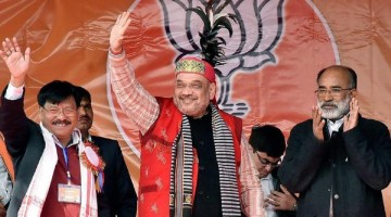 BJP will not declare CM candidate for Tripura Election